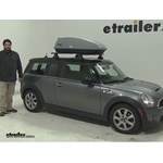 Thule  Roof Cargo Carrier Review - 2010 Mini Clubman