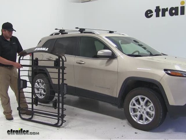 Thule Roof Cargo Carrier Review 2014 Jeep Cherokee Video