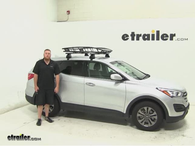 Lovely Thule Roof Cargo Carrier Review   2015 Hyundai Santa Fe