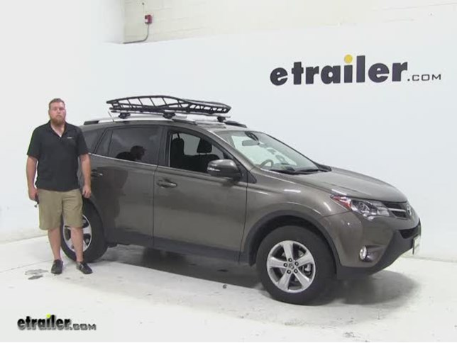 Thule Roof Cargo Carrier Review   2015 Toyota RAV4 Video | Etrailer.com