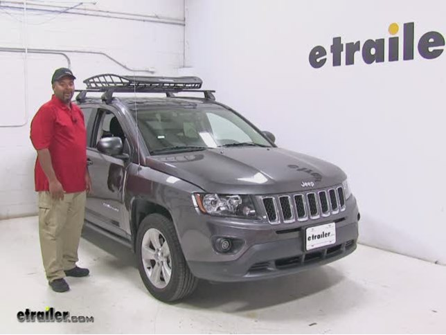 Thule Roof Cargo Carrier Review 2016 Jeep Compass Video Etrailer Com