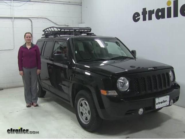 Thule Roof Cargo Carrier Review 2016 Jeep Patriot Video Etrailer Com