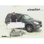Thule  Roof Rack Review - 2003 Honda Pilot