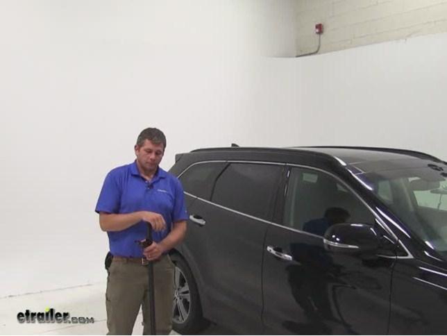 Thule Roof Rack For Hyundai Santa Fe 2011 Etrailer Com