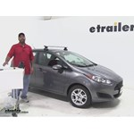 Thule  Roof Rack Review - 2014 Ford Fiesta