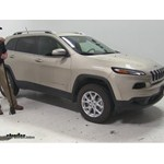 Video review thule roof rack 2014 jeep cherokee thlb58