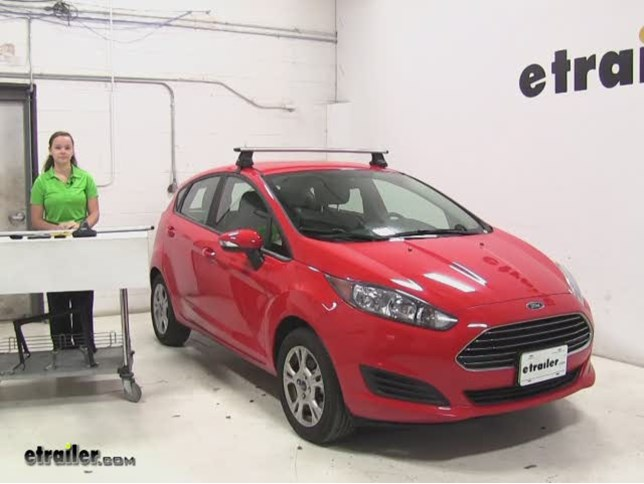 Ford Fiesta Roof Rack >> Thule Roof Rack Review 2015 Ford Fiesta Video Etrailer Com