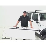 Video review thule roof rack 2015 jeep wrangler unlimited thlb58
