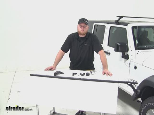Thule Roof Rack Review 2017 Jeep Wrangler Unlimited Etrailer Com