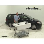Video review thule roof rack 2015 mazda 5 tharb47
