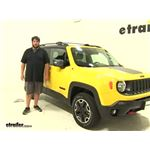 Thule  Roof Rack Review - 2016 Jeep Renegade