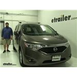 Thule  Roof Rack Review - 2016 Nissan Quest