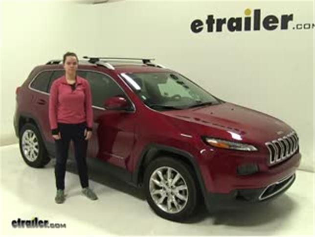 Thule Roof Rack Review   2017 Jeep Cherokee
