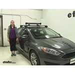Thule  Ski and Snowboard Racks Review - 2015 Ford Focus