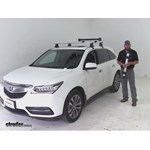 Thule  Ski and Snowboard Racks Review - 2016 Acura MDX