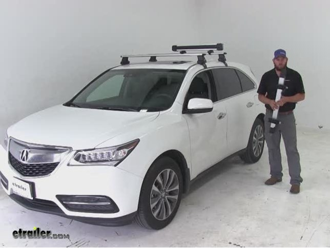 Captivating Thule Ski And Snowboard Racks Review   2016 Acura MDX Video | Etrailer.com