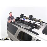 Video review thule snowpack extender ski and snowboard carrier th732508