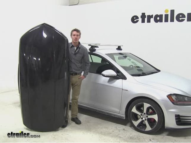 Thule Sonic Roof Cargo Carrier Review - 2015 Volkswagen Golf Video | etrailer.com  sc 1 st  eTrailer.com & Thule Sonic Roof Cargo Carrier Review - 2015 Volkswagen Golf Video ...