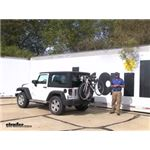 Thule  Spare Tire Bike Racks Review - 2013 Jeep Wrangler