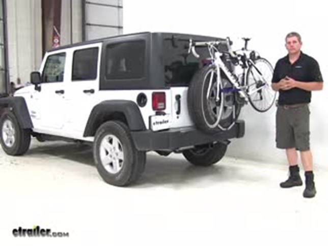 Thule Spare Tire Bike Racks Review 2017 Jeep Wrangler Unlimited