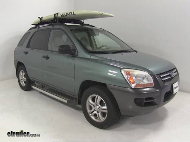 Thule Watersport Carriers Review 2008 Kia Sportage Video Etrailer Com