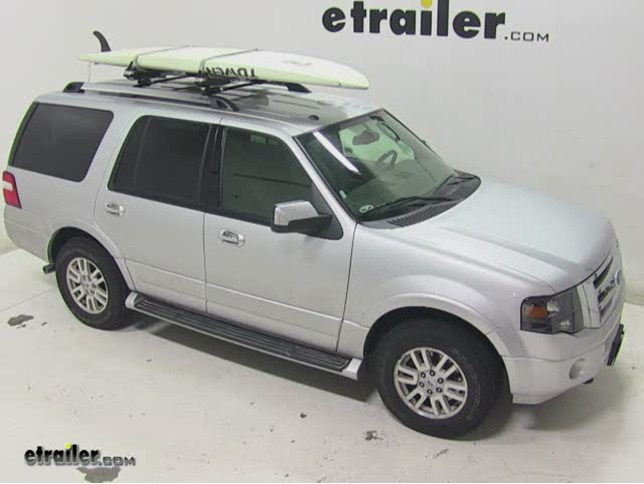 Thule SUP Taxi Stand Up Paddleboard Carrier Review   2014 Ford Expedition  Video | Etrailer.com