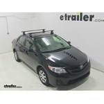 Video review thule traverse loadbars 2013 toyota corolla thlb50
