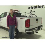 Thule  Truck Bed Bike Racks Review - 2015 Chevrolet Colorado