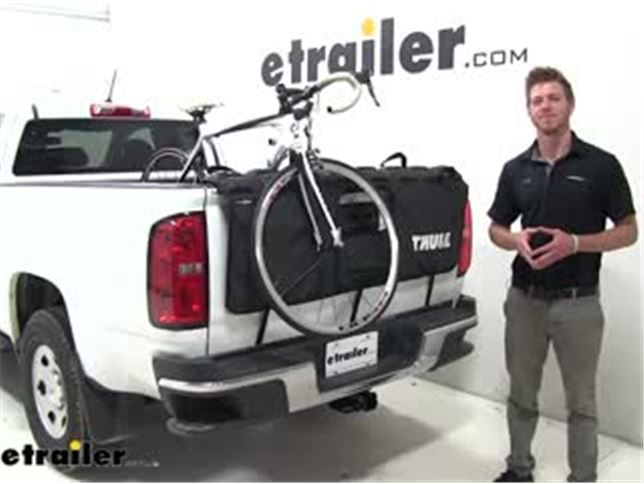 Thule Truck Bed Rack >> Thule Gatemate Pro Tailgate Pad And Bike Rack For Compact Trucks 53 Wide