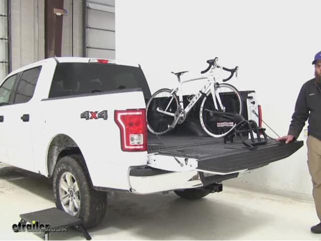 thule bike rack installation instructions