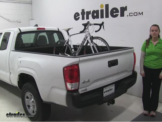 Thule Truck Bed Bike Racks Review 2017 Toyota Tacoma Etrailer Com