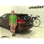 Thule  Trunk Bike Racks Review - 2009 Toyota Venza