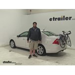 Thule  Trunk Bike Racks Review - 2011 Ford Fusion