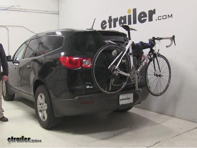Thule Trunk Bike Racks Review 2012 Chevrolet Traverse Video