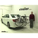 Thule  Trunk Bike Racks Review - 2012 Toyota Camry