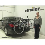 Thule  Trunk Bike Racks Review - 2013 Hyundai Sonata
