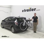 Thule  Trunk Bike Racks Review - 2013 Toyota Prius c