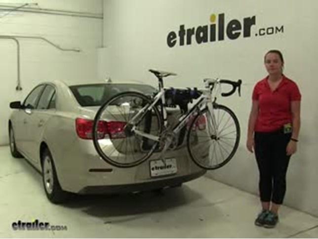 Thule Trunk Bike Racks Review   2014 Chevrolet Malibu Video | Etrailer.com