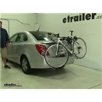 Thule  Trunk Bike Racks Review - 2014 Chevrolet Sonic