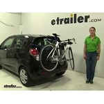 Thule  Trunk Bike Racks Review - 2014 Chevrolet Spark