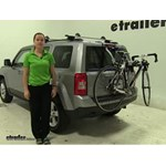 Thule  Trunk Bike Racks Review - 2014 Jeep Patriot