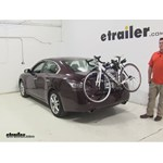 Thule  Trunk Bike Racks Review - 2014 Nissan Maxima