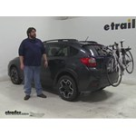 Thule  Trunk Bike Racks Review - 2014 Subaru XV Crosstrek