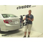 Thule  Trunk Bike Racks Review - 2014 Toyota Camry