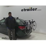 Thule  Trunk Bike Racks Review - 2015 Chevrolet Cruze