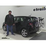 Thule  Trunk Bike Racks Review - 2015 Chevrolet Sonic