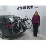 Thule  Trunk Bike Racks Review - 2015 Dodge Dart