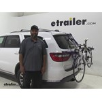 Thule  Trunk Bike Racks Review - 2015 Dodge Durango