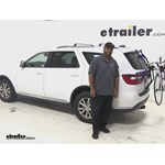 Video review thule trunk bike racks 2015 dodge durango th911xt