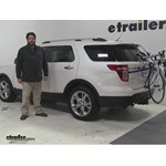 Thule  Trunk Bike Racks Review - 2015 Ford Explorer